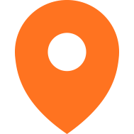 Icon Locatie Oranje